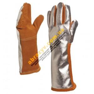 Перчатки термостойкие Delta Plus TERK400 для сварщика