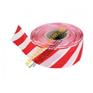 Стрічка сигнальна Стандарт червоно-біла, 500 м