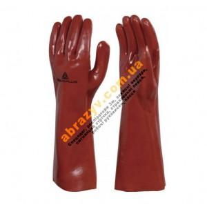 Перчатки защитные Delta Plus PVCC400 с ПВХ покрытием, 40см