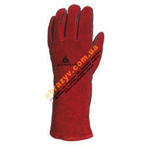 Перчатки сварщика Delta Plus CA615K краги спилковые с подкладкой