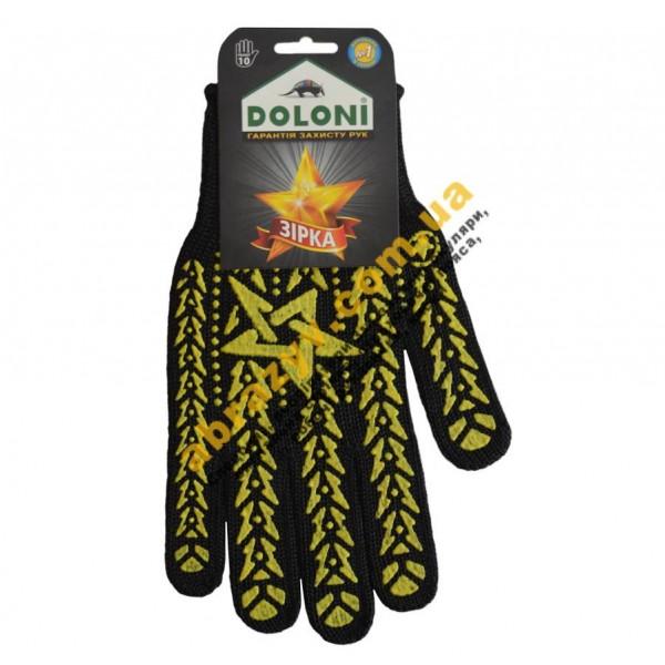 Перчатки Doloni 562 Звезда черная