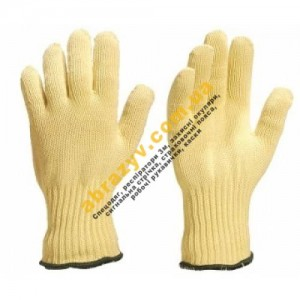 Перчатки кевларовые Delta Plus KPG10, термостойкие