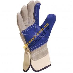 Перчатки зищитные Delta Plus DS202RP комбинированные кожаные