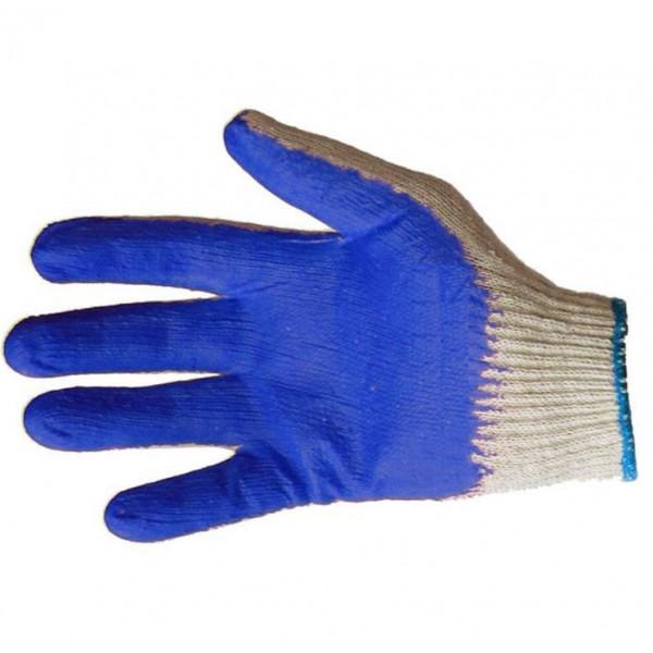 Перчатки рабочие Вампирка хб с покрытием латекс