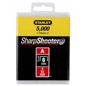 "Скоби STANLEY для степлера ручного ""Light Duty"" тип ""А"" 1-TRA205T"