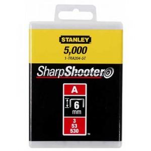 """Скобы STANLEY для степлера ручного """"Light Duty"""" тип """"А"""" 1-TRA206T"""