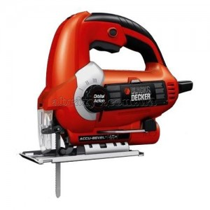 Електролобзик Black&Decker 400Вт, глибина різу до 60мм., кейс. KS500KAX