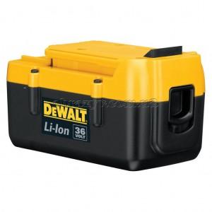 Акумулятор DeWalt DE9360, Li-Ion , 36 V, 2,2 Аг, 2000 циклів