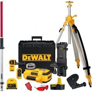 Ротационный лазерный уровень DeWALT с аксессуарами DW079PKH