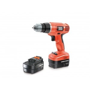 Дриль/гвинтоверт Black&Decker 12 V EPC12CAB