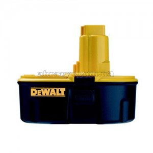 Акумулятор DeWalt DE9503 NiMH, 18 V, 2,6 А/год, 3000 циклів