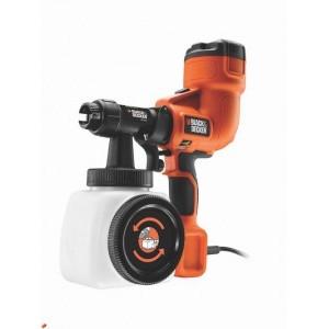 Фарбопульт Black&Decker HVLP200 для точного фарбування 300 Вт, ємність 1180 мл