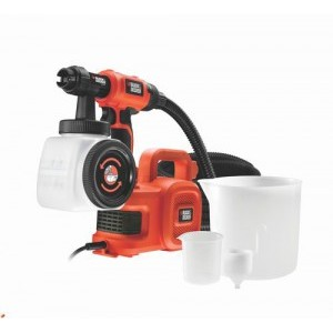 Фарбопульт Black&Decker HVLP400 для точного фарбування 350 Вт, ємність 1180 мл