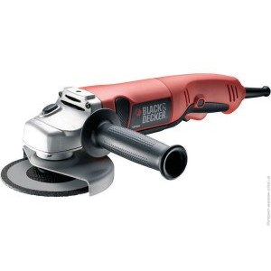 Кутова шліфмашина Black&Decker 1200вт,d=125 мм, валіза. KG1200K