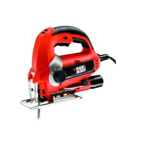 Електролобзик Black&Decker 620 Вт, пропил до 85мм, 3 пилочки, валіза . KS900EK