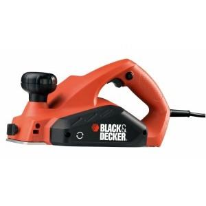 Электрорубанок Black & Decker, 650Вт, 0-2мм, 2 ножа, переходник. KW712