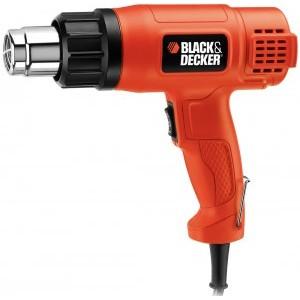 Пистолет горячего воздуха Black&Decker, 1750Вт, 2 режима 460/600 град. KX1650