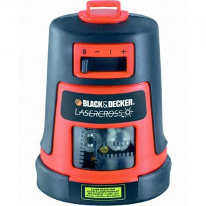 Лазерний рiвень Black&Decker LZR6, 9V, на пiдставцi, промiнь горизонт та вертикаль