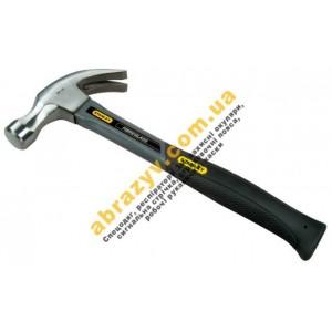 Молоток Stanley Grey Fiberglass Curve Claw 1-51-628