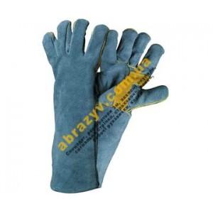 Перчатки сварщика Cerva Harpy кожаные