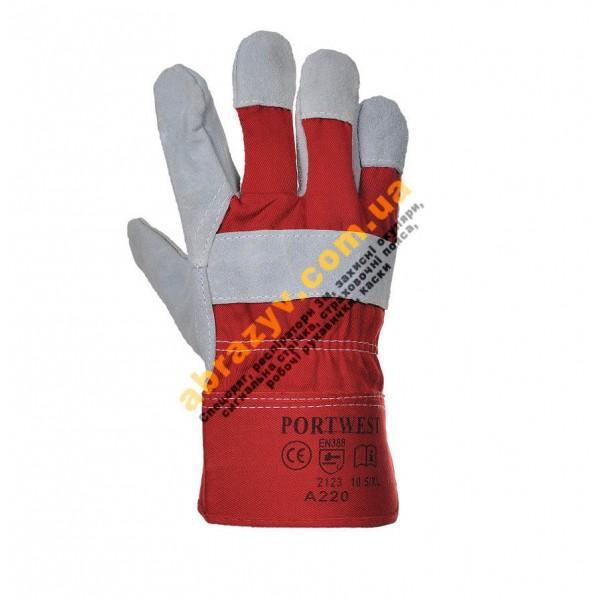 Перчатки защитные кожаные Portwest A220