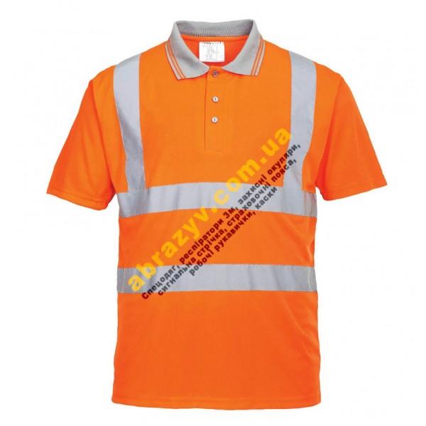 Сигнальная футболка поло Portwest RT22
