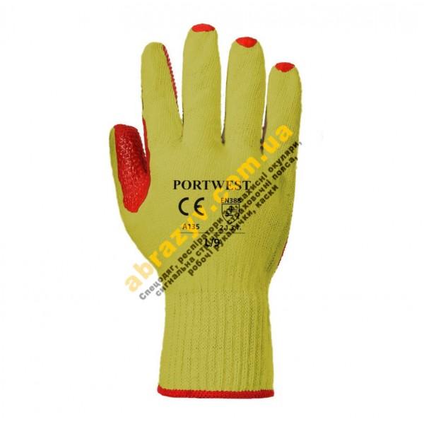 Перчатки Portwest Tough Grip A135 с латексным покрытием