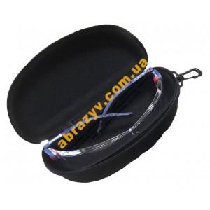 Чохол для окулярів з карабином жорсткий чорний Sizam 2
