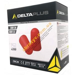 Протишумові вкладиші (беруші) пінополіуретанові Delta Plus CONIC200