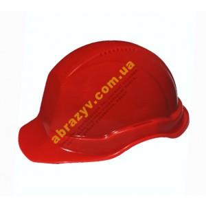Захисна каска будівельна монтажна Універсал Тип Б червона