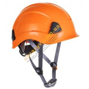 Захисна каска Portwest PS53 для роботи на висоті помаранчевий