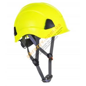 Захисна каска Portwest PS53 для роботи на висоті жовтий