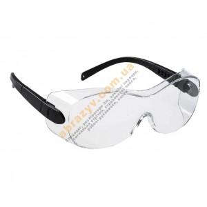 Окуляри Portwest PS30 поверх коригуючих окулярів