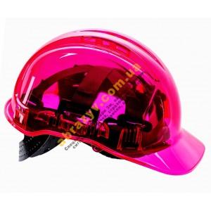 Каска захисна Portwest PV50 Peak View рожева