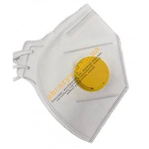 Респиратор МІК FFP2 с клапаном противоаэрозольный