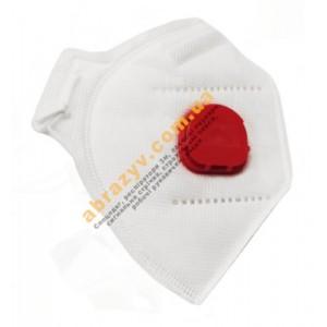 Полумаска респиратор противоаэрозольный МІК FFP3 с клапаном