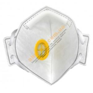 Полумаска фильтрующая Респиратор БУК - 2К FFP2 с клапаном 2