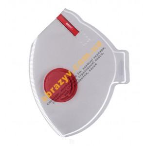 Полумаска фильтрующая Респиратор БУК-3К FFP3 с клапаном 2