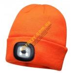 Шапка Portwest B029 с LED лампой оранжевый