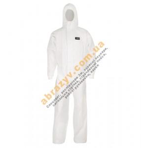Комбинезон защитный Sizam X-SAFE 4510 с капюшоном белый