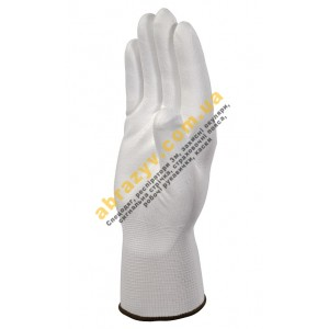Рукавички Delta Plus VE702P, білі, поліуретанове покриття 2