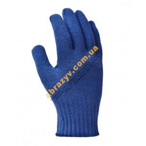 Рукавиці з крапками сині 646 Doloni 2