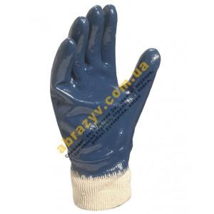 Рукавички захисні Delta Plus NI155, повне нітрилове покриття, трикотажний манжет 2