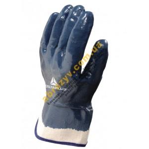 Перчатки защитные Delta Plus NI175, нитриловое покрытие с крагами