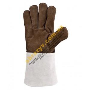Перчатки сварщика Delta Plus TER250, термостойкие, кожаные 2