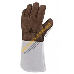 Перчатки сварщика Delta Plus TER250, термостойкие, кожаные
