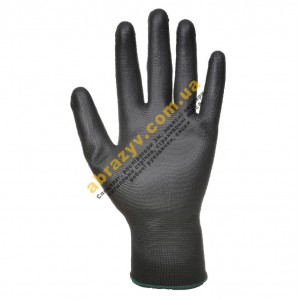 Перчатки с полиуретановым покрытием Portwest A120 черные 2