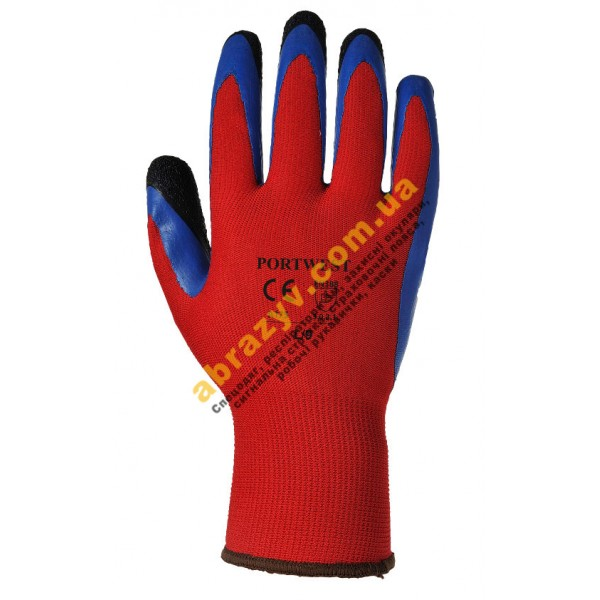 Захисні латексні рукавички Portwest Duo-Flex A175