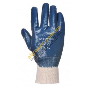 Защитные перчатки Portwest A300 с нитриловым покрытием