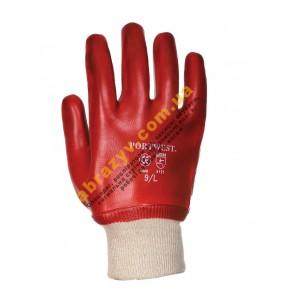 Робочі рукавички з ПВХ Portwest A400